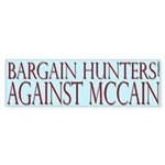 Bargain Hunters Against McCain
