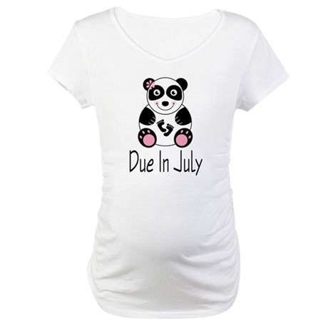 July Due Date Maternity Tee