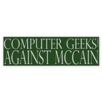 Computer Geeks Against McCain