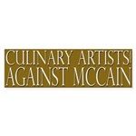 Culinary Artists Against McCain