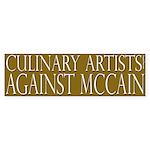 Culinary Artists Against McCain