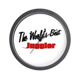 """The World's Best Juggler"" Wall Clock"