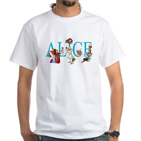 ALICE IN WONDERLAND & FRIENDS White T-Shirt