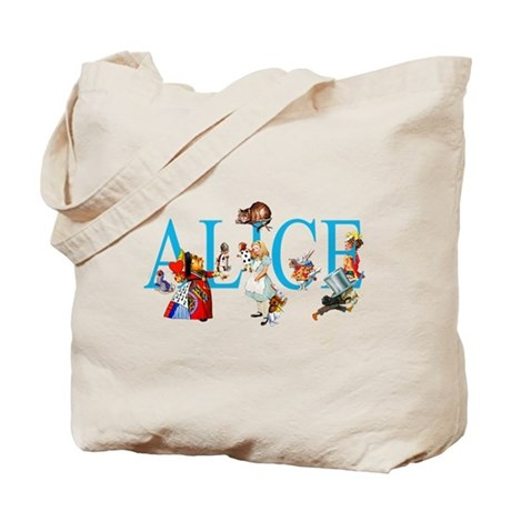 ALICE IN WONDERLAND & FRIENDS Tote Bag
