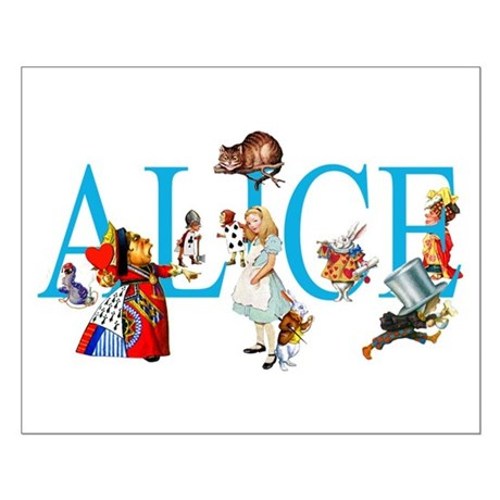 ALICE IN WONDERLAND & FRIENDS Small Poster