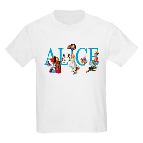 ALICE IN WONDERLAND & FRIENDS Kids Light T-Shirt
