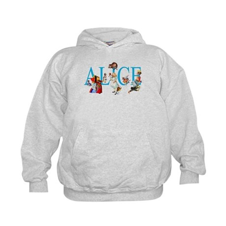 ALICE IN WONDERLAND & FRIENDS Kids Hoodie