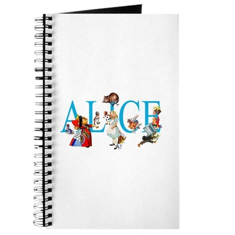 ALICE IN WONDERLAND & FRIENDS Journal