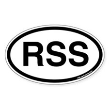 RSS Oval Decal