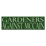 Gardeners Against McCain (green)