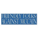 Friendly Folks Against McCain