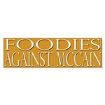 Foodies Against McCain