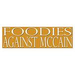 Foodies Against McCain