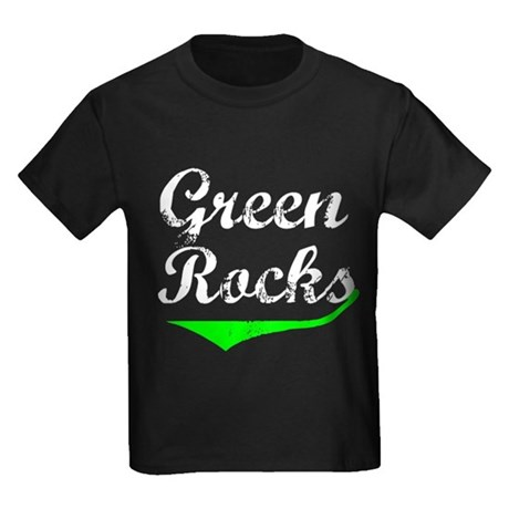 Green Rocks Kids Dark T-Shirt