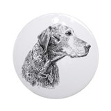 Great Dane - Sadie Ornament (Round)