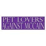 Pet Lovers Against McCain