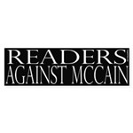 Readers Against McCain (black)