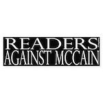 Readers Against McCain (black)