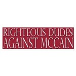 Righteous Dudes Against McCain