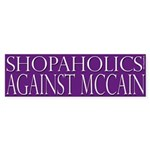 Shopaholics Against McCain