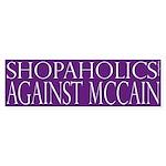 Shopaholics Against McCain