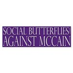 Social Butterflies Against McCain