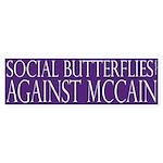 Social Butterflies Against McCain