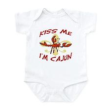 Kiss Me I'm Cajun Too Onesie
