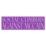 Social Climbers Against McCain