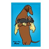 Weiner Dog and Puppy Postcards (Package of 8)