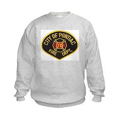 Pontiac Fire Department Kids Sweatshirt
