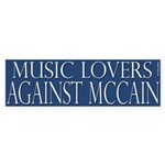Music Lovers Against McCain