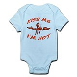 Kiss Me Crawfish Onesie