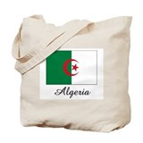 Algeria Flag Tote Bag