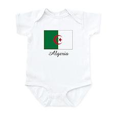 Algeria Flag Infant Bodysuit