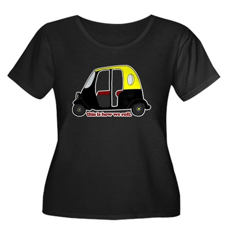 This Is How We Roll Rickshaw Women's Plus Size Sco
