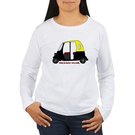 This Is How We Roll Rickshaw Women's Long Sleeve T