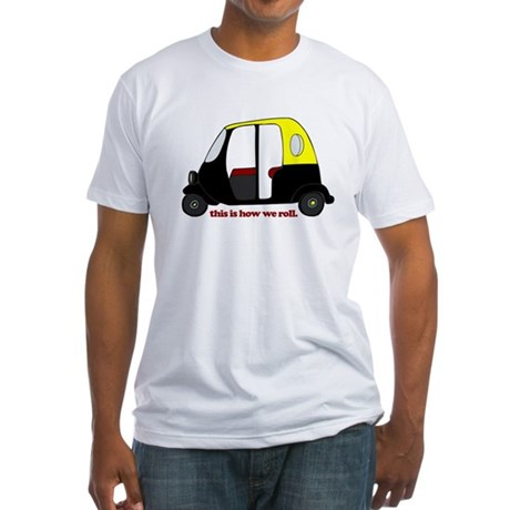 This Is How We Roll Rickshaw Fitted T-Shirt