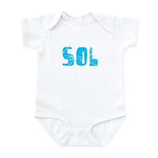 Sol Faded (Blue) Infant Bodysuit