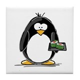 Sushi Penguin Tile Coaster