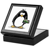 Sushi Penguin Keepsake Box