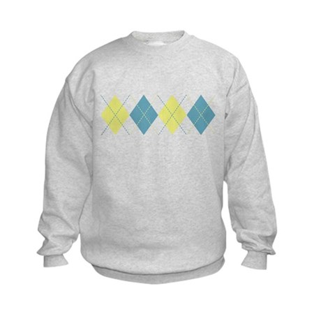 Argyle Business Casual Kids Sweatshirt