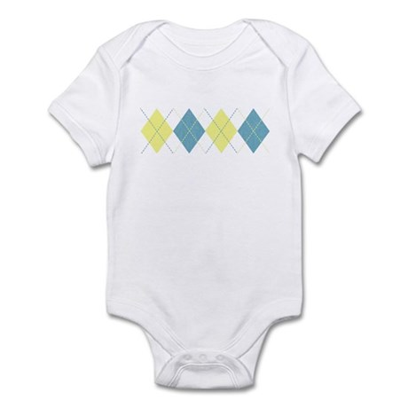 Argyle Business Casual Infant Bodysuit