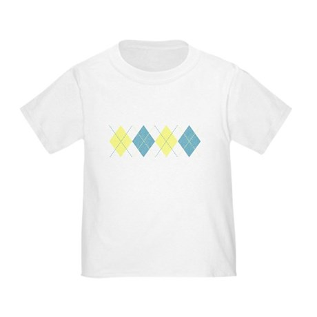 Argyle Business Casual Toddler T-Shirt