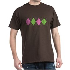 Argyle Business Casual T-Shirt