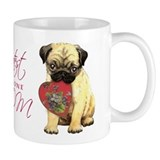 Pug Mom Coffee Mug