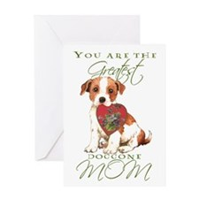 Parson Russell Mother's Day Greeting Card