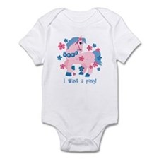 I Want A Pony Infant Bodysuit