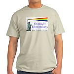 Outright Libertarians Light T-Shirt