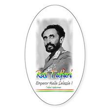 Ras Tafari - Oval Decal